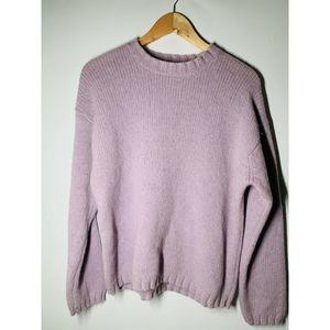 J. Crew Women's Purple Pullover Sweater Size M